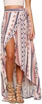 Cocobla Ladies Chiffon Wrap Dress Sarong Pareo Beach Cover Up Skirt