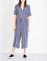 MiH Jeans Hart silk-crepe de chine jumpsuit