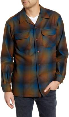 Pendleton Board Wool Flannel Shirt