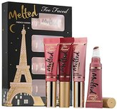 Too Faced French Kisses Melted Liquified Lipstick Set New 2015
