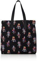 Prada Men's Robot-Print Tote Bag