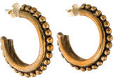 Stephen Dweck Beaded Hoop Earrings