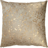 Gold-Spotted Haircalf Pillow