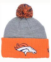 New Era Denver Broncos Heather Stated Knit Hat