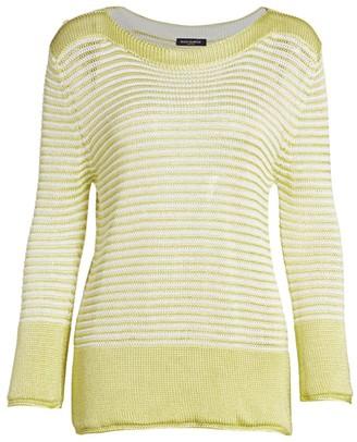 Piazza Sempione Striped Sweater