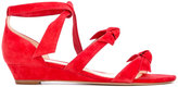 Alexandre Birman 'Gianna' low wedge sandals - women - Leather/Suede - 5