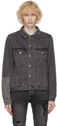 Ksubi Black Denim Classic Dynamo Jacket