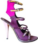 Louis Vuitton Purple Pony-style calfskin Heels