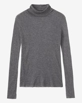 Toast Fine Wool Tencel Polo Neck