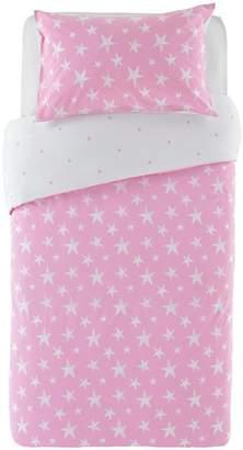 Star Bedding Argos Home Pink Set