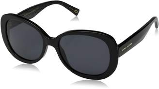 Marc Jacobs Women's Marc261s Polarized Oval Sunglasses