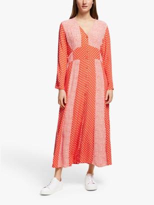 Y.A.S Tiara Spot Print Dress, Multi