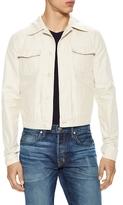 Tom Ford Spread Collar Cotton Denim Jacket