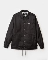 Stussy Spring Coach Jacket (Black)
