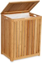 Bed Bath & Beyond Oceanstar Spa-Style Bamboo Laundry Hamper