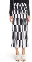 Proenza Schouler Women's Pleat Jacquard Knit Midi Skirt