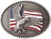M&F Western - Eagle Flag Oval Buckle Men's Belts