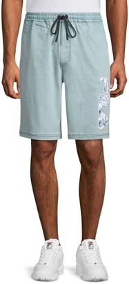 Fila Denim Logo Shorts