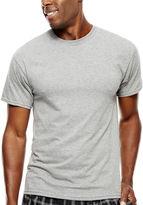 Hanes Men's ComfortBlend FreshIQ( Dyed Crewneck Undershirt 4-Pack