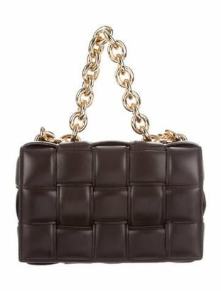 Bottega Veneta Chain Cassette Padded Bag Brown