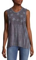 True Religion 4th of July Hi-Lo Muscle Tank Top