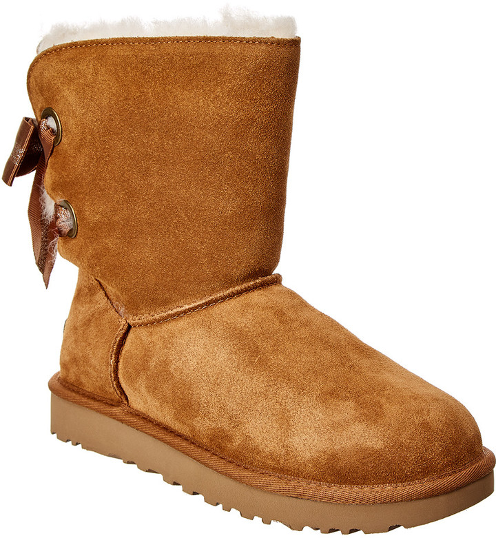 UGG Customizable Bailey Bow Suede Boot