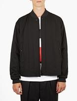 Marni Black Wool Bomber Jacket
