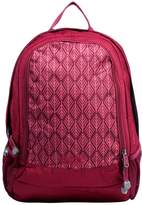 Jack Wolfskin PERFECT DAY Rucksack garnet red geometric leaves