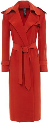 Norma Kamali Stretch-jersey Trench Coat
