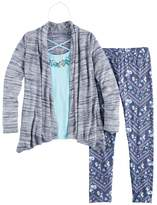 Knitworks Girls 7-16 Cozy Cardigan Top