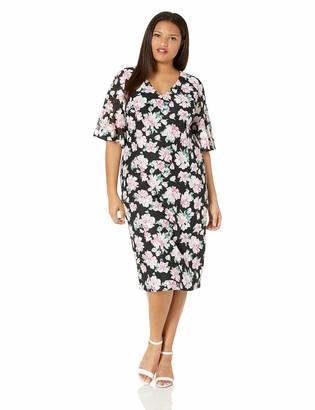 Rachel Roy Women's Plus Size Delilah Floral Lace Dress