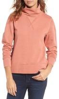Madewell Women's Garment Dyed Funnel Neck Sweatshirt