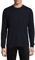 Autumn Cashmere Cashmere Leather Patched Sweater