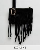 Reclaimed Vintage Inspired Fringe Bumbag
