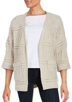 Vero Moda Oversized Texture Knit Cardigan