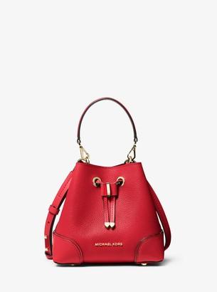 MICHAEL Michael Kors Mercer Gallery Extra-Small Pebbled Leather Crossbody Bag