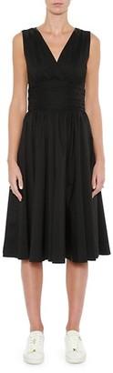 MICHAEL Michael Kors Poplin Midi Dress