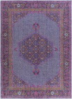 The Well Appointed House Surya Zahra Rug in Purple, Fuchsia, Red and Mustard-Available in a Variety of Sizes