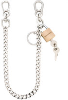 DSQUARED2 padlock chain - men - Brass - One Size