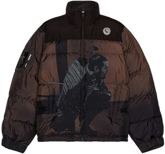 Undercover Puffer Jacket in Brown Base | FWRD