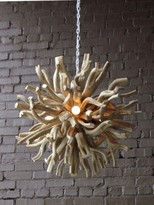 The Well Appointed House Driftwood Orb Chandelier