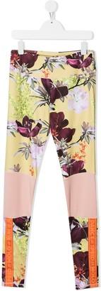 Molo Floral-Print Leggings