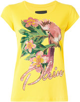 Philipp Plein cockatoo T-shirt - women - Cotton - XS