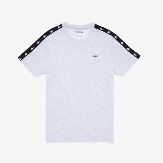 Lacoste Men's SPORT Crocodile-Stripe T-Shirt