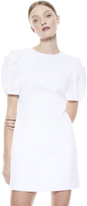 Alice + Olivia Hanita Puff Sleeve Mini Dress