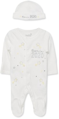 M&Co Born in 2020 sleepsuit (0-9mths)