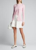 Ralph Lauren Silk Short-Sleeve Sweater