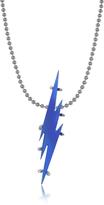 DSQUARED2 Blue Transparent Flash Necklace