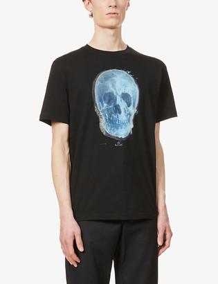 Paul Smith Skull graphic-print organic cotton-jersey T-shirt