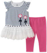 Kids Headquarters 2-Pc. Tunic & Leggings Set, Little Girls